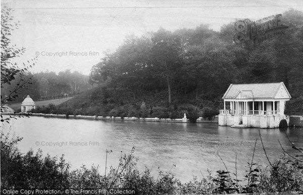 Photo of Witley, Park Lake And Boathouse 1906