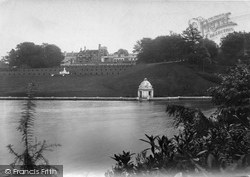 Witley, Park Lake And Terrace 1906