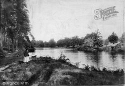 Witley, Sweetwater Pond 1906