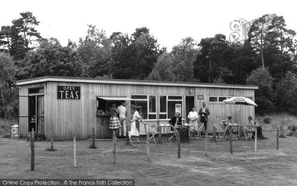 Photo of Witley, The National Trust Tea Rooms c.1960