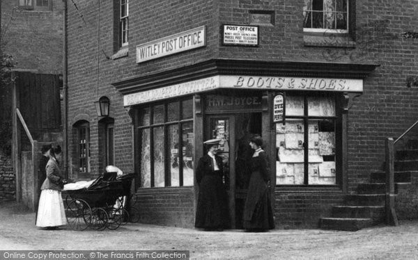 Photo of Witley, The Post Office 1906