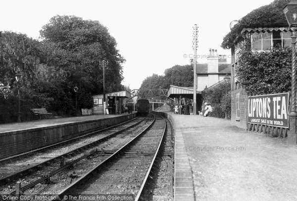 Photo of Witley, The Station 1908