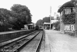 Witley, The Station 1908