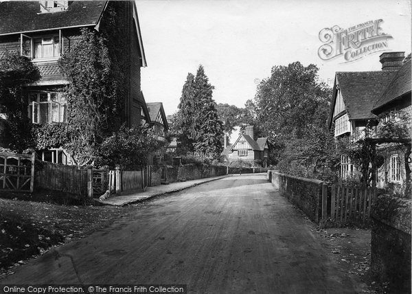 Photo of Witley, The Street 1919
