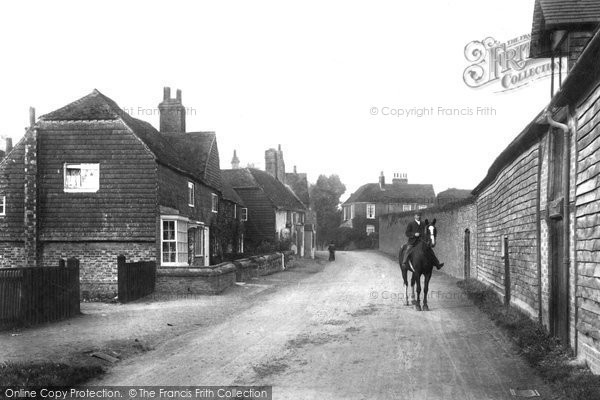 Photo of Witley, The Village 1906