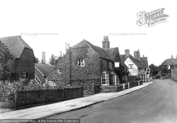 Photo of Witley, The Village 1923