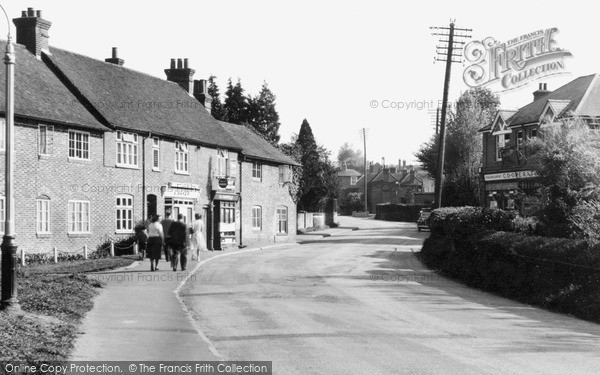 Photo of Witley, The Village c.1950