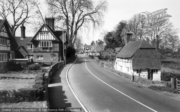 Photo of Witley, The Village c.1955