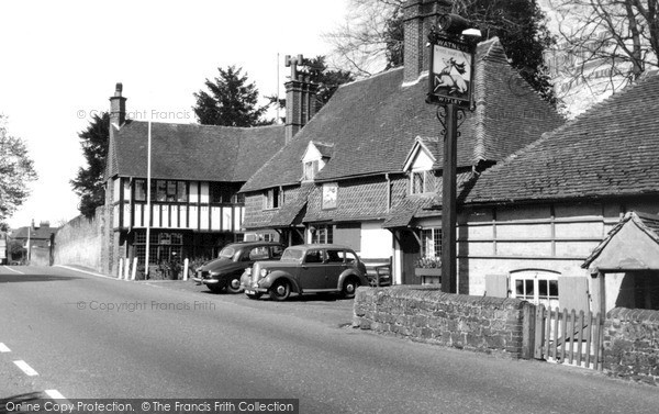 Photo of Witley, the White Hart Hotel c1955