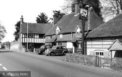 The White Hart Hotel c.1955, Witley