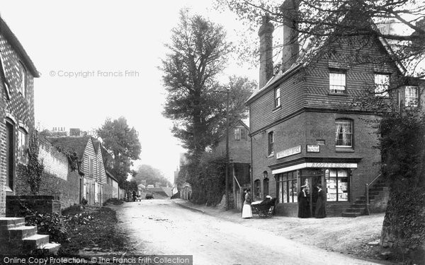 Photo of Witley, Village Post Office 1906