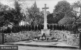 Witley, War Memorial 1923