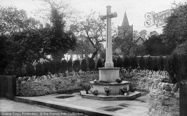 Photo of Witley, War Memorial 1923