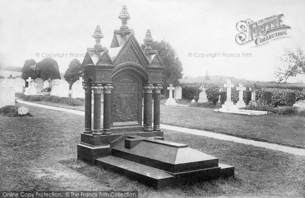Photo of Witley, Whitaker Wright's Tomb 1906