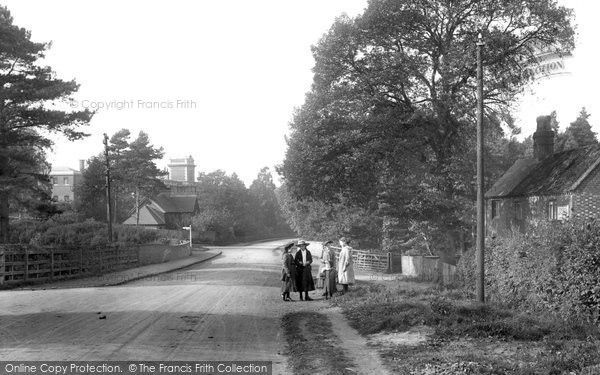 Photo of Witley, Wormley Hill 1906