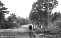 Witley, Wormley Hill 1906