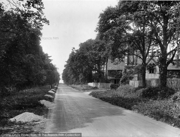 Photo of Witley, Wormley Hill 1927
