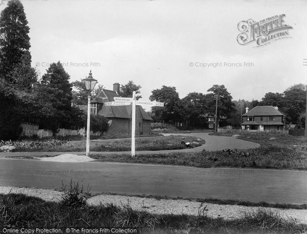 Photo of Witley, Wormley Hill, Four Ways 1927