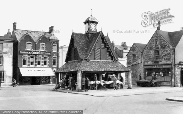 Photo of Witney, Butter Cross c.1950