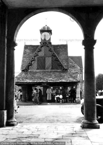 Photo of Witney, Butter Cross c.1955