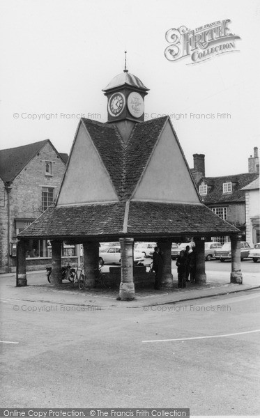 Photo of Witney, Butter Cross c.1965