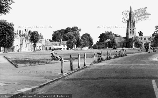 Witney, Church Green c1950