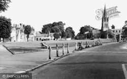 Witney, Church Green c.1950