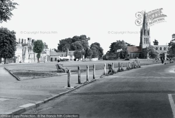 Photo of Witney, Church Green c.1950