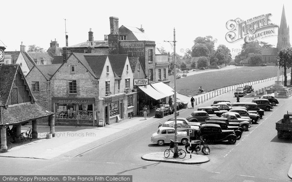 Photo of Witney, Church Green c.1960
