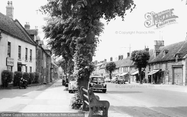 Photo of Witney, Corn Street c.1960