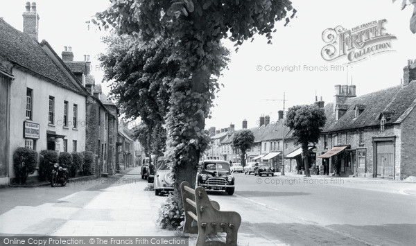 Photo of Witney, Corn Street c.1960