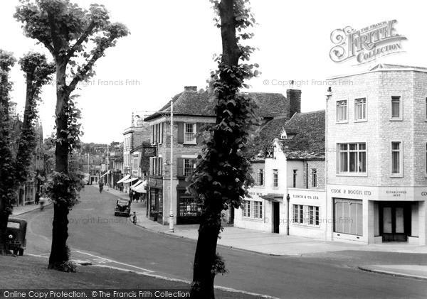 Photo of Witney, High Street c.1950