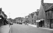 Witney, High Street c1950