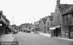Witney, High Street c.1950