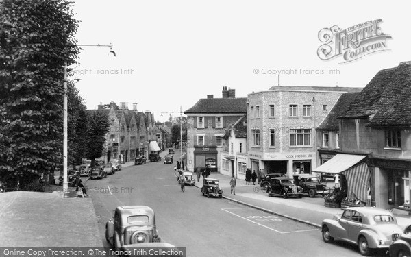 Photo of Witney, High Street c.1955