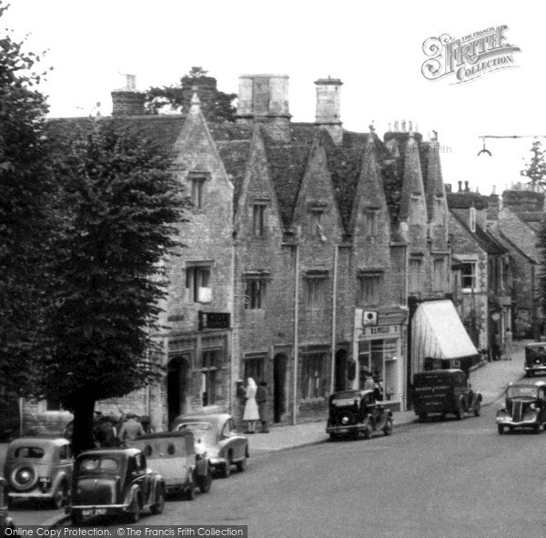Witney, High Street c1955