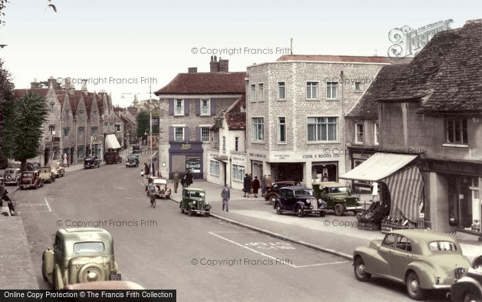 Photo of Witney, High Street c.1955