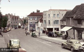 Witney, High Street c1955