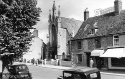 Witney, High Street Methodists c.1955