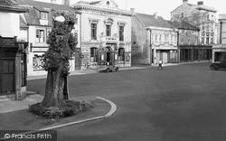 Witney, Market Place c.1950