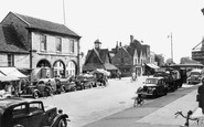 Witney, Market Square 1950