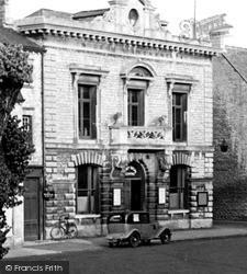 Witney, Social Centre c.1950