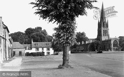 Witney, St Mary's Church c.1950