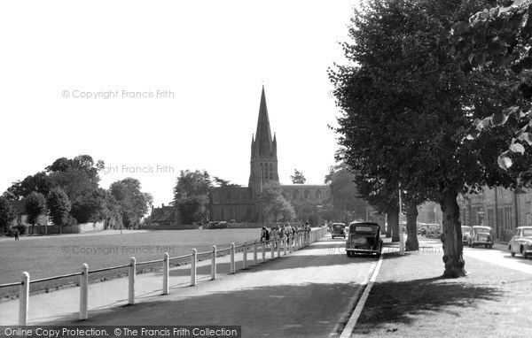 Photo of Witney, St Mary's Church c.1955