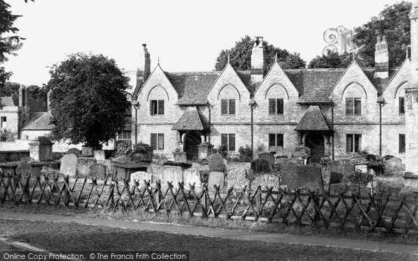 Photo of Witney, The Almshouses c.1950