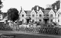 Witney, The Almshouses c.1950