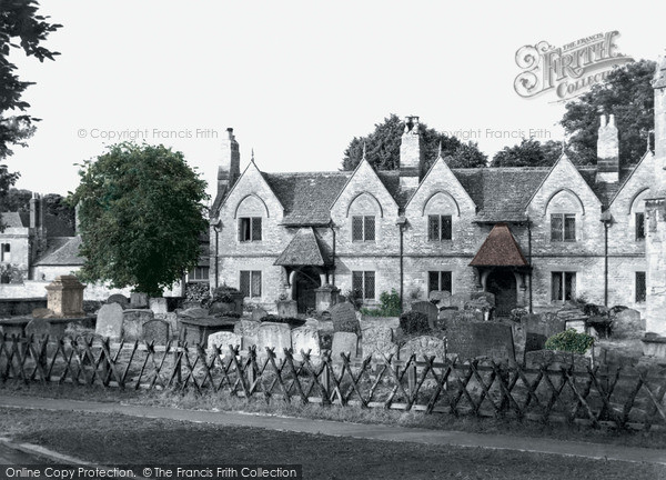 Photo of Witney, The Almshouses c.1950