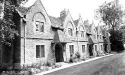 Witney, The Almshouses c.1955