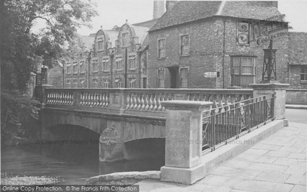 Photo of Witney, The Bridge c.1950