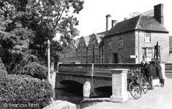 Witney, The Bridge c.1955